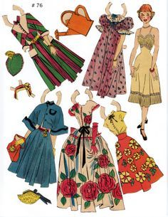 free paper dolls and paintings too Arielle Gabriel's International Paper Doll Society Barbie, Paper Toys, Paper Crafts, Marionette, Origami Paper Art, Paper People, Retro Mode, Paper Dolls Printable, Vintage Paper Dolls