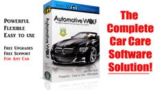 Automotive Wolf is a complete car management software solution that makes it easy to keep up with your car maintenance schedule, remind you when any vehicle maintenance is due and monitor your vehicles overall condition, operating costs, fuel economy and much more. Try it out for the 30 Day FREE Trial | See more about Wolves.