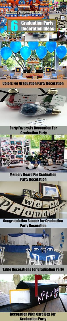 6 Graduation Party Decoration