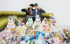 Official Website Update Tao and Baekhyun Birthday Party Celebration