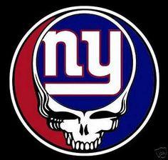Steal Your Face New York Grateful Lot Dead Giants Football T Shirt