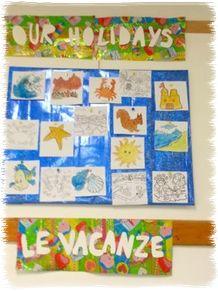 Lavoretti e attivit per il primo giorno di scuola dopo le for Idee per decorare un aula di scuola