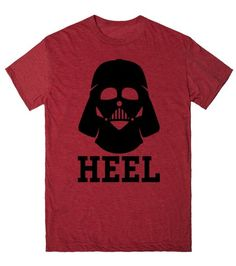Darth Vader is a Heel - The ultimate heel in the universe.  Show everyone you love wresting and star wars! #starwars