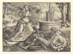 Lucas van Leyden | Pyramus and Thisbe | 1514