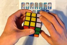 Anybody Can Solve a Rubik's Cube With Augmented Reality