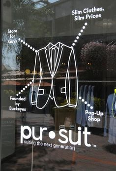 """PURSUIT,Dublin,Ireland, """"Suiting the next generation"""", pinned by Ton van der Veer"""