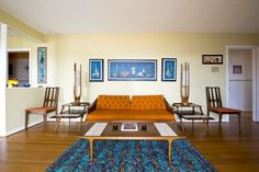 Karen's Mid Century Modern Nashville Home — House Tour | Apartment Therapy