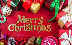 Download wallpaper decor, gifts, Christmas, bumps, holiday, section new year / christmas in resolution 1920x1200