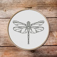 Dragonfly  dragonfly  Cross Stitch Pattern  by MyFunnyStitches1