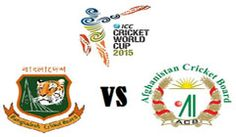 Today The Big Match Of ICC Cricket World Cup Bangladesh vs Afghanistan Live Score 1st Match Feb 18, 2015. Ban vs Afg Live Score Cricket World Cup 2015