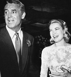 Cary Grant e Grace Kelly Golden Age Of Hollywood, Vintage Hollywood, Hollywood Stars, Classic Hollywood, Monaco, Gary Grant, Patricia Kelly, Becoming An American Citizen, Princess Grace Kelly