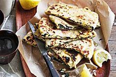 Spinach and feta gozleme Recipe - Taste.com.au Mobile