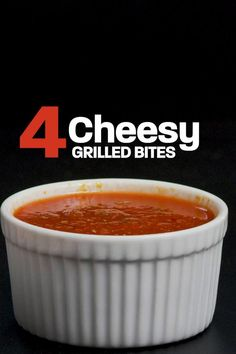We have all the cheesy goodness right here! Watch for 4 cheesy grilled bites and find more recipes and ideas on HSTV. Grilled Cheese Sticks, Chicken And Veggie Recipes, Caprese Skewers, Grilled Bread, Cedar Planks, Cheese Dishes, Good Burger, Halloumi, Recipe Using