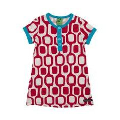 Rio Print Dress - Chili Red
