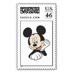Mickey Mouse Stamps Art And Friends Disney Postage
