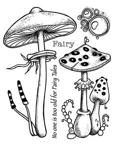 Magical Design workforce by Artwork Journey: Fungus Fairy Tales The Effective Pictures We Offer You About Coloring Pages city A quality picture can tell you. Scrapbooking, Diy Scrapbook, Lavinia Stamps, Bulletins, Stencils, Mushroom Art, Album Photo, Tampons, Mushrooms