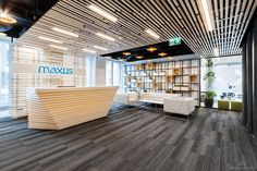 Maxus office on Behance