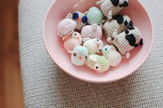 crochet pugs and owlies! she's got amazing stuff and free patterns