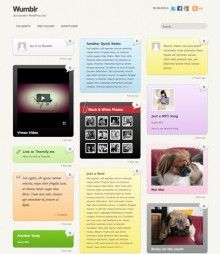 Wumblr WordPress Theme by Themify