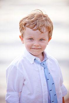 So cute in a tie.