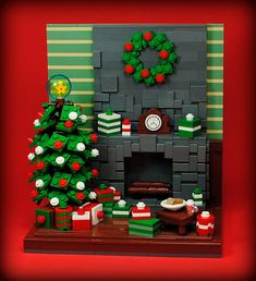 My ideal Christmas tree | Built for this year's Eurobrick's … | Flickr
