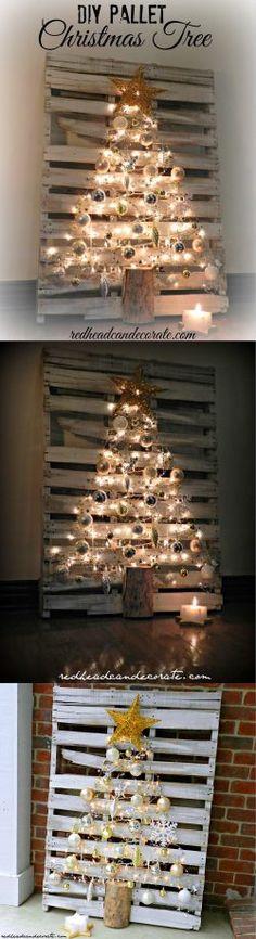 DIY Pallet Christmas Tree Guide
