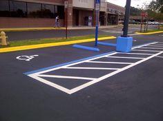 sealing and striping parking lot in Florida