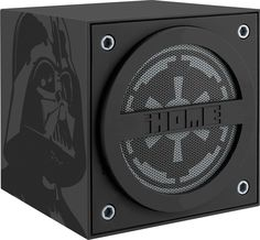 iHome - Star Wars Darth Vader Portable Speaker - White