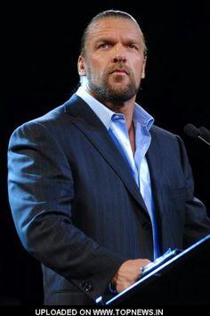 Paul Levesque aka Triple H Paul Michael, Catch, Mick Foley, Stephanie Mcmahon, Shawn Michaels, Weak In The Knees, Triple H, Wwe Wrestlers, John Cena