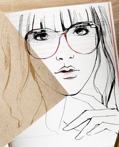 One of my favorite illustrations from my favorite fashion blog, Garance Dore.
