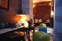 lovely fireplace www.marrakech-riad.co.uk