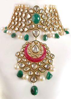 Shilpa Shetty's bridal necklace