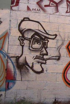 It is only recently that graffiti and the street art scene have been viewed as something more than just an underground artistic movement. Easy Graffiti Drawings, Graffiti Doodles, Graffiti Cartoons, Graffiti Designs, Graffiti Characters, Best Graffiti, Graffiti Wall Art, Street Art Graffiti, Desenho New School