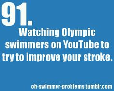 Yes i don't know if im the only one #youtube #swimmer #swimmerproblems
