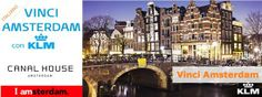 Concorso KLM per vincere un viaggio ad Amsterdam