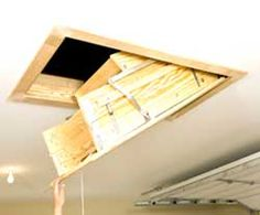 How to Insulate and Air-Seal Pull-Down Attic Stairs  sc 1 st  Pinterest : attic zipper seal  - Aeropaca.Org