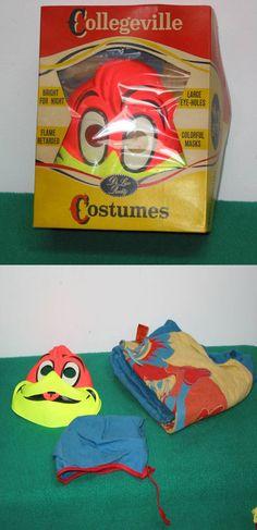 Vintage Halloween Costume ~ Woody Woodpecker by Collegville * Circa, 1960's