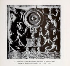 Veneration of the Buddha's teachings as a sun-wheel