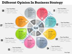 0314 business ppt diagram different opinion in business strategy powerpoint template