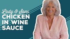 Easy Chicken Dinner Recipes, Shrimp Recipes, Sauce Recipes, Cooking Recipes, Chicken In Wine Sauce, Pulled Pork Nachos, Best Dishes, Main Dishes, Paula Deen