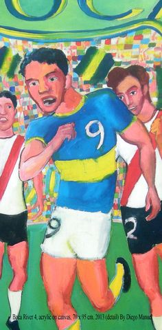 Boca River 4, acrylic on canvas, 70 x 95 cm. 2013