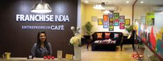 Entrepreneur Café by Franchise India  Franchise India, a pioneer in the franchising industry has introduced a niche concept of the Entrepreneur Café in New Delhi.  Entrepreneur Café helps businesses to be incubated & running business to expand. Franchise India plans to set up cafés in Gurgaon & Mumbai too.