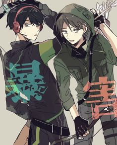 Youtubers, Anime Art, Kawaii, Fan Art, Manga, Drawings, Artwork, Anime Boys, Collaboration