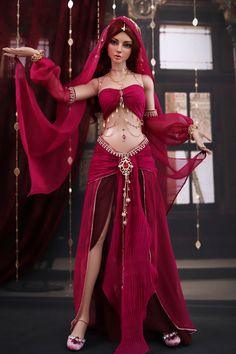 Belly Dance Outfit, Belly Dance Costumes, Beautiful Dolls, Beautiful Dresses, Fashion Dolls, Fashion Dresses, Arabian Beauty Women, Photographie Indie, Accessoires Barbie