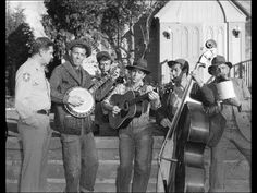 Watch the Dillards' debut bluegrass appearance on The Andy Griffith Show in The Darlings Are Coming 1963 episode Best Tv Shows, Movies And Tv Shows, The Dillards, Barney Fife, Mountain Music, The Andy Griffith Show, Bluegrass Music, Online Photo Gallery, Song Playlist