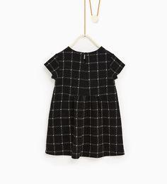 ZARA - KIDS - Jacquard check dress
