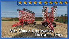 Análisis Vila Vibro Cultivador Dragged 10m #FS17