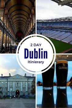 2 Days in Dublin Itinerary | www.theflyawaylife.com