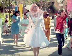 New KP:Katy Perry has made yet another splash, over the top music video. The singer's video for Chained To The Rhythm was released on Tuesday