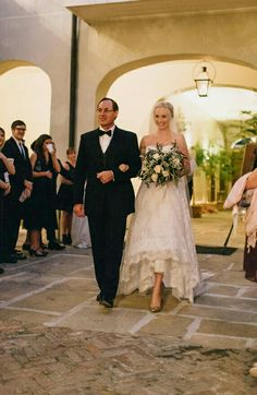 Candice walking down the aisle